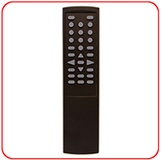SC-29AL Aluminum Metal Remote - Black finish